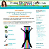 Energy Recharge Coaching website