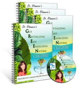 Dr. Ritamarie's GREEN Cleanse Program - materials