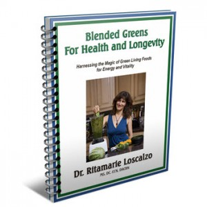 Blended Greens for Health and Longevity