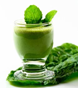 green smoothie will get you jumping out of bed
