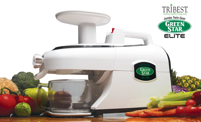 Tribest Green Star Elite Juicer - win a Green Star juicer