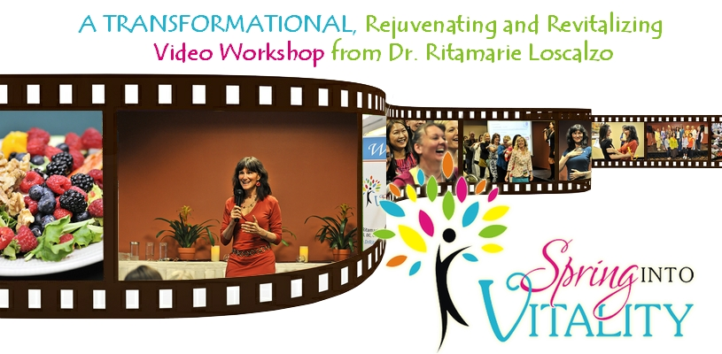 Spring Into Vitality - Video Workshop Collection - Dr Ritamarie
