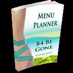 B4 Be Gone Menu Planner