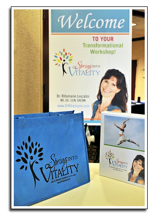 Spring Into Vitality - health conference with Dr. Ritamarie Loscalzo