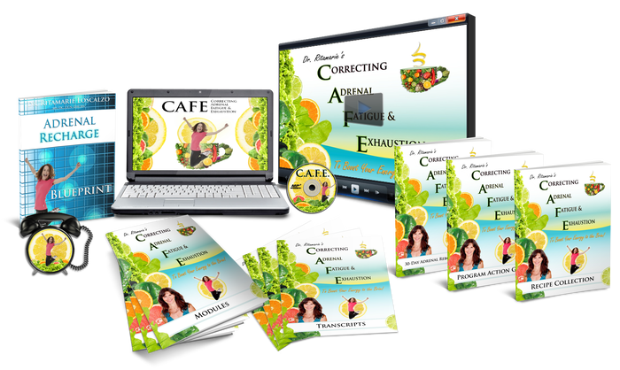 CAFE - Correcting Adrenal Fatigue and Exhaustion - Step-by-Step System