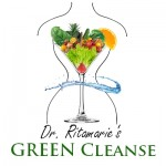 GREEN Cleanse - glass with body splash x400