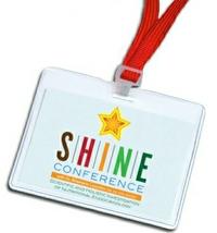 SHINE Conference lanyard