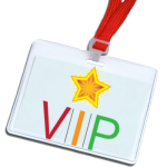 SHINE Conference lanyard VIP