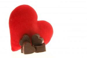 valentine chocolate small
