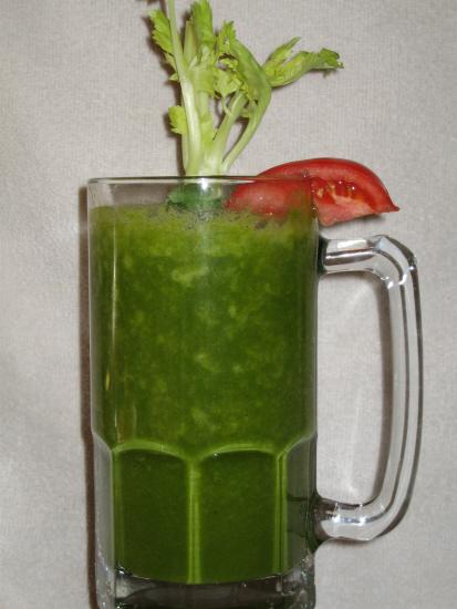 green smoothie versus green juice