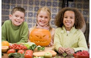 Healthy Halloween Kids