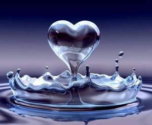 the messages of water and gratitude
