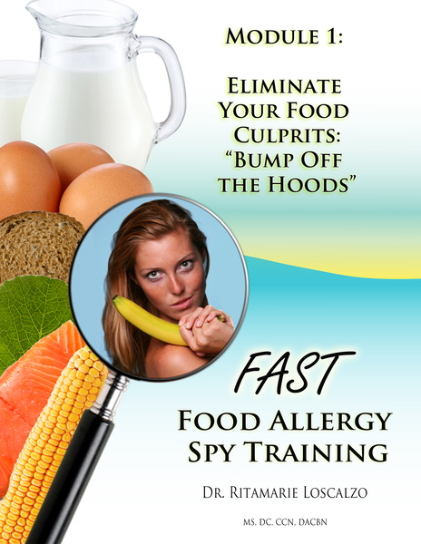 FAST: Food Allergy Spy Training - Eliminate Your Food Culprits
