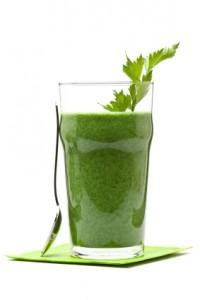 green smoothie, kale