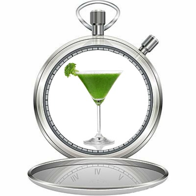 "Dr. Ritamarie's GREEN ""Thyme"" Machine Recipe: Green Smoothie"