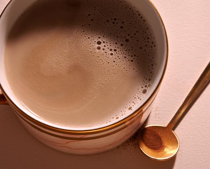 Warming Energizing Chocolate Chai