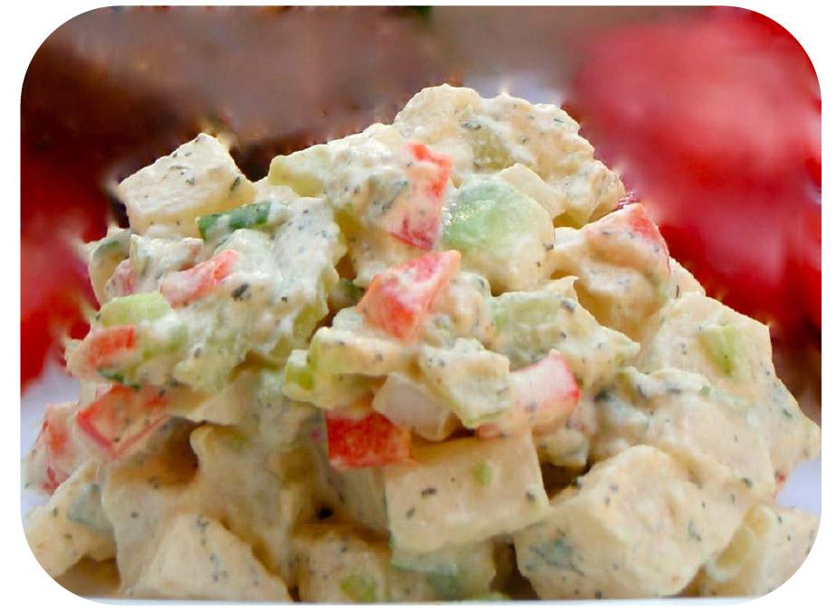 Recipe: Luscious Jicama Potato Salad – Low Glycemic, Gluten and Dairy-Free